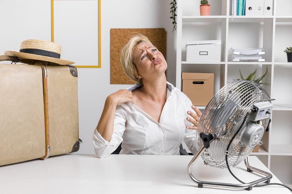 afkoelen met ventilator